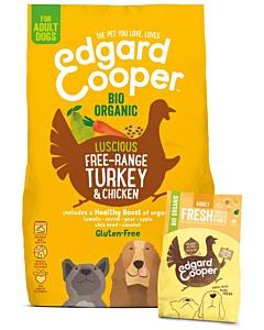 Edgard Cooper koeratoit kalkuni- ja kanalihaga / 7kg
