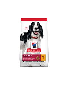 Hill's koeratoit Science Plan kanaga keskmisele koerale / 2,5kg