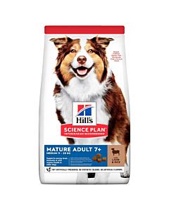 Hill's Science Plan Mature koeratoit lambaga keskmisele koerale / 2,5kg
