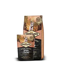 Carni Love kuivtoit suurt tõugu kutsikale lõhe&kalkunilihaga / 12kg