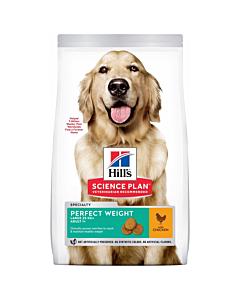 Hill's Science Plan Weight koeratoit kanaga suurele koerale / 12kg