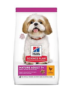 Hill's Science Plan Mature koeratoit kanaga väiksele koerale / 3kg