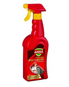 Koerte-kasside peletusspray Arox