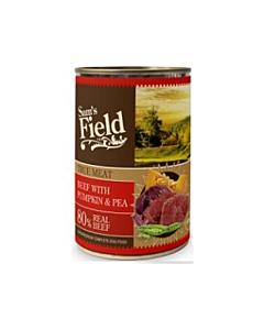Sam´s Field konserv veiseliha kõrvitsa&hernestega / 400g