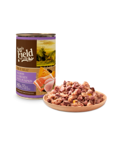 Sam´s Field konserv Lõhe,Kana&Kõrvitsaga / 400g