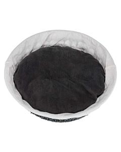 Korv Feira, tume hall/natural / ø 45 cm