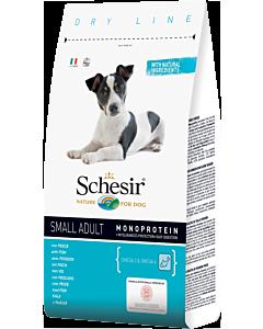 Kuivtoit koertele Schesir DRY LINE Small Adult Maintenance kalaga / 2kg