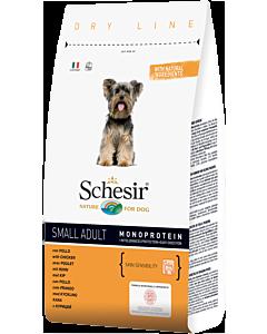 Kuivtoit koertele Schesir DRY LINE Small Adult Maintenance kanaga  / 800g