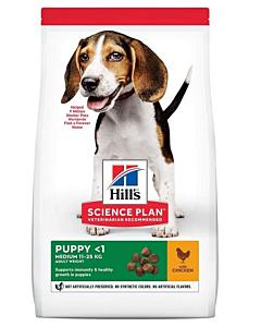 Hill's Science Plan koeratoit kanaga keskmist kasvu kutsikale / 800g