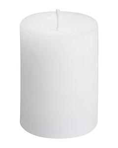 Белая настольная свеча / 13,5 cm