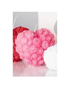 #Küünal 80x120 / 22h / süda / roosa