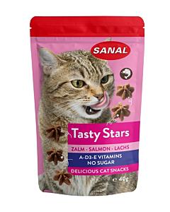 SANAL kassidele llõhega maius Tasty Stars / 40g