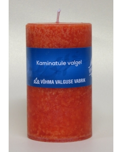 Lõhnaküünal 40x50mm / 11h / silinder / Kaminatule valgel  / LM