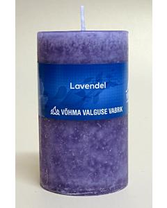 Lõhnaküünal 60x90mm / 40h / silinder / Lavendel