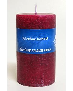 Lõhnaküünal 40x50 / 11h / silinder / Talveõun Kaneel