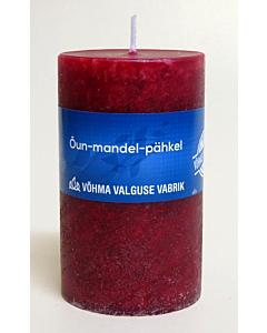 Lõhnaküünal 60x90mm / 40h / silinder / Õun Mandel Pähkel