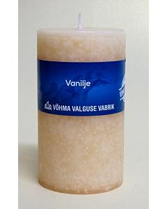 #Lõhnaküünal 40x50 / 11h / silinder / Vanilje