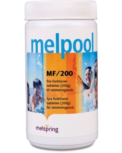 Lahustuvad kloori(multi)tabletid MF200 basseini / 1 kg