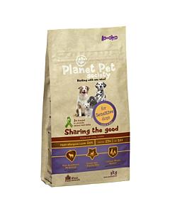 Planet Pet Society täistoit lammas-riis tundlikele koertele / 15kg