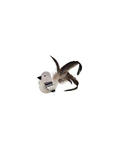 FLAMINGO mänguasi kassile Linnuke Pirin sulgedega