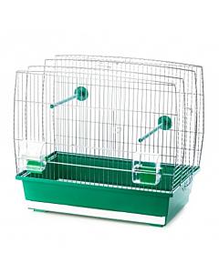 Клетка для птиц Luna 4 / золотая / 65x33x65 cm