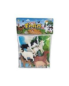 Loomad 6tk pakis +mängumatt