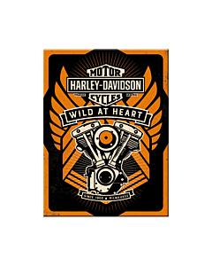 Magnet / Harley-Davidson Wild at Heart / LM