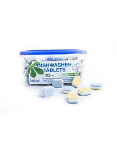 Mayeri таблетки для посудомоечной машины All in One / 70 шт