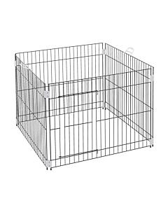 Metallaedik Dog Training kutsikatele / 80x80x62cm