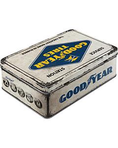 Metallkarp / flat Goodyear logo / LM