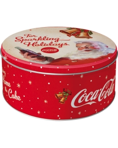 Metallpurk ümar / L 3D Coca-Cola For Sparkling Holidays / LM