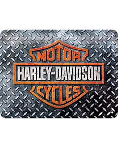 Металлический декоративный постер / Harley Davidson / 15x20см