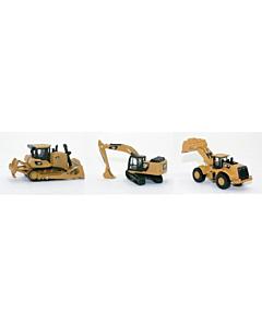 Caterpillar Mini metallist masinad / ekskavaator, laadur, buldooser