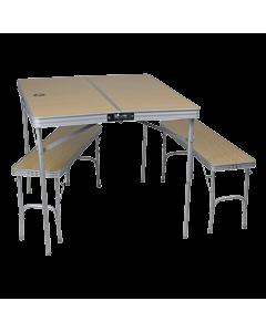 Kokkupandav laud 2 pingiga / 4inimesele