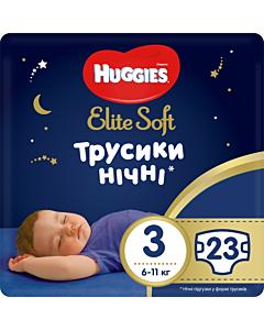 Huggies püksmähkmed Elite Soft Overnight 3, 6-11kg / 23tk / LM