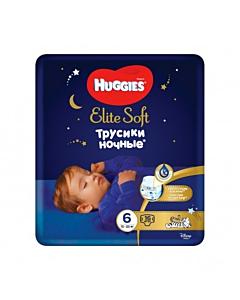 Huggies püksmähkmed Elite Soft Overnight 6, 15-25kg / 16tk / LM