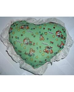 Padi südamekujuline / roheline
