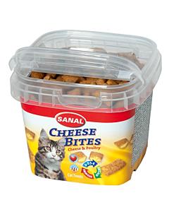 Krõbedad padjakesed kassidele juustuga Sanal Cheese Bites / 75g