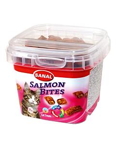Krõbedad padjakesed kassidele lõhega Sanal Salmon Bites / 75g