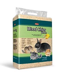 Padovan näriliste allapanu Woodchips saepuru sidrunilõhnaline / 4kg ehk 56l