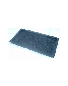Plastvorm katteplaat paekivi / 26,7x12,5x3,0cm