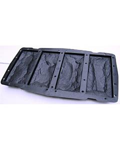 Plastvorm 4 katteplaadile Paekivi / 7,6x16,2x2,0cm