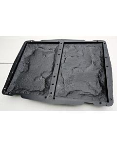 Plastvorm 2 katteplaadile Paekivi / 24,8x16,2x2,0cm