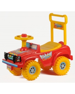 Pealeistutav auto HOT JEEP KIDS RIDER