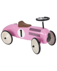 Pealeistutav auto (roosa)