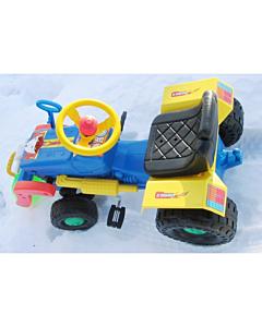 Pedaalidega traktor sahaga Turbo 1