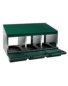 Munemiskast Comfortplast ühe korruseline kodulindudele / 3pesa