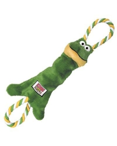 Kong Tugger Knots Frog mänguasi koertele S/M