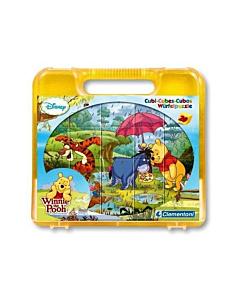 Pildiklotsid kohvris Winnie Pooh / 20tk.