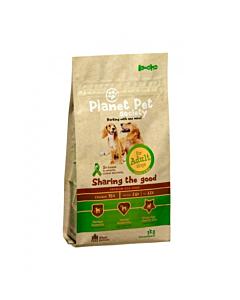Planet Pet Society täistoit koerale kana-riisi Adult